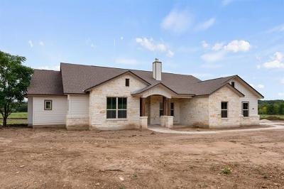 Burnet County Single Family Home For Sale: 109 Kleingrass Ct