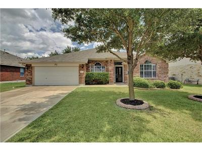 Pflugerville Single Family Home Pending - Taking Backups: 1020 Portchester Castle Path