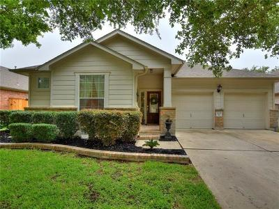 Round Rock Single Family Home For Sale: 4205 Flat Stone Ct