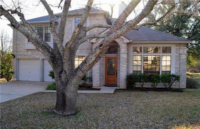Cedar Park Single Family Home Pending - Taking Backups: 1204 Paint Brush Trl