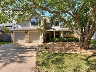 Leander Single Family Home For Sale: 1411 River Oak Dr