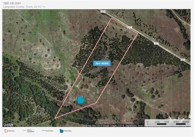Lampasas Farm For Sale: 6903-3 Cr 2001-Tract 3