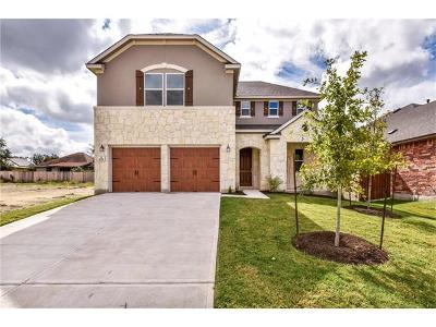 Leander Single Family Home For Sale: 1625 Uhland Dr