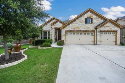 Leander Single Family Home For Sale: 2036 Tribal Way