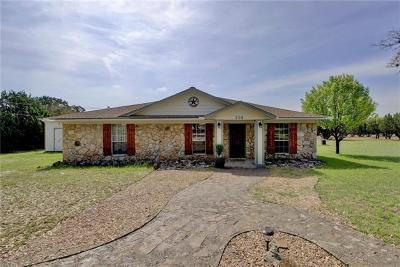 Single Family Home Pending - Taking Backups: 208 Oak Bend Dr
