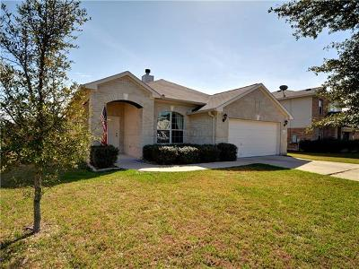 Hutto TX Single Family Home Pending - Taking Backups: $215,000