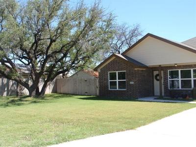 Lampasas Single Family Home For Sale: 1208 Nix Rd