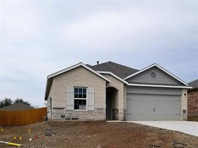 Round Rock TX Single Family Home For Sale: $264,990