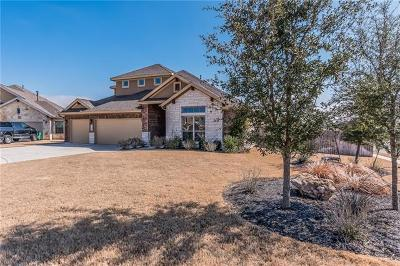 Cedar Park Single Family Home For Sale: 3200 Pradera Cv