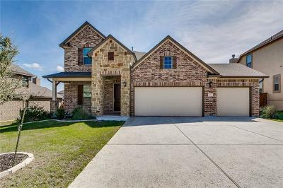 Leander Single Family Home For Sale: 928 Purple Moor Pass