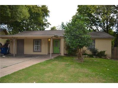 Austin Single Family Home For Sale: 2530 Chaparral Trl
