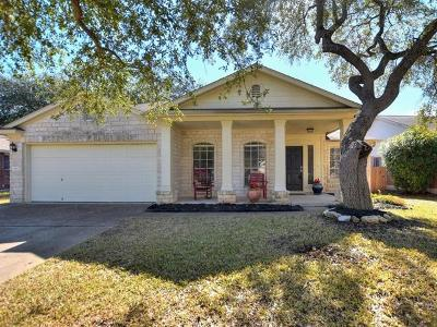 Round Rock Single Family Home Pending - Taking Backups: 3360 Cantera Way