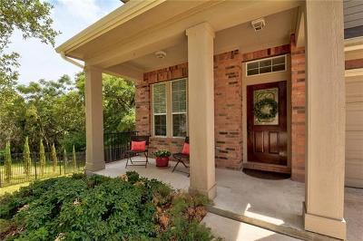 Travis County Single Family Home Pending - Taking Backups: 1509 Braxton Valley Cv