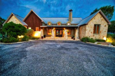 Dripping Springs Single Family Home For Sale: 12243 Trautwein Rd