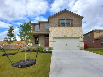 Round Rock Single Family Home For Sale: 2044 Hat Bender Loop