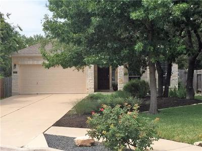 Cedar Park Single Family Home Pending - Taking Backups: 805 Tasha Ct