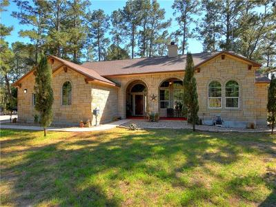 Bastrop Single Family Home For Sale: 423 Old Firetower Rd
