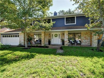 Travis County, Williamson County Single Family Home For Sale: 10907 Leafwood Ln