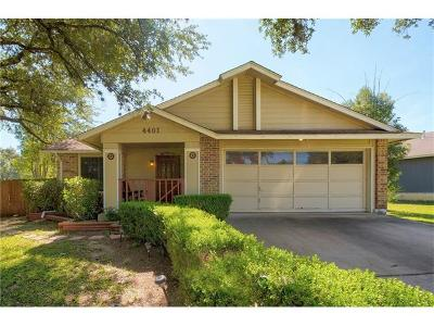 Austin Single Family Home For Sale: 4401 Keota Dr