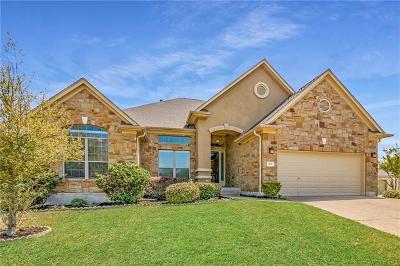 Round Rock Single Family Home For Sale: 1101 Hillridge Ct