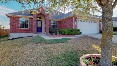 Pflugerville Single Family Home For Sale: 2713 Pedernales Falls Dr