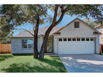 Leander Single Family Home For Sale: 2425 Lauren Loop