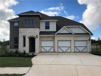 Leander Single Family Home For Sale: 124 Redtail Ln
