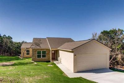 Lago Vista Single Family Home Pending - Taking Backups: 20201 Lincoln Cv