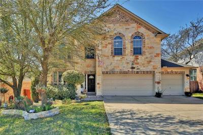 Cedar Park Single Family Home For Sale: 407 Clear Creek Cv