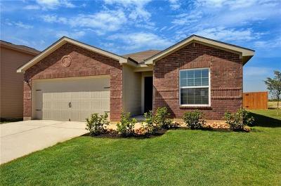 Jarrell Single Family Home For Sale: 116 Farmer Ln