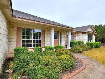 Lago Vista Single Family Home For Sale: 20603 Buckskin Rdg