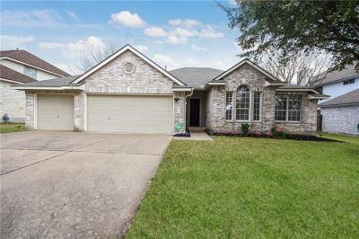 Pflugerville Single Family Home For Sale: 2520 Butler National Dr