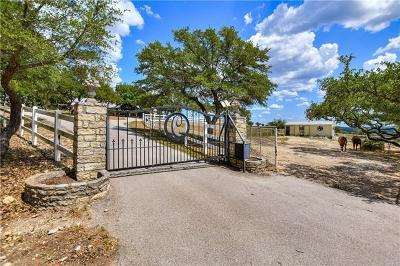 Dripping Springs Single Family Home For Sale: 4900 W Hwy 290
