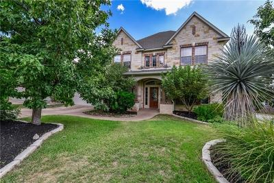 Hays County, Travis County, Williamson County Single Family Home For Sale: 7100 Via Dono Dr