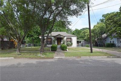 Temple Single Family Home For Sale: 606 N 15th St