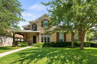 Round Rock Single Family Home For Sale: 3407 Cortina Ln