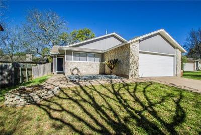 Austin TX Single Family Home For Sale: $297,000