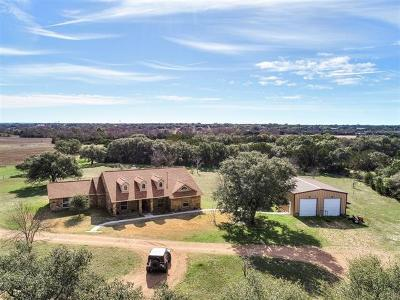 Burnet County Single Family Home For Sale: 5923 N Us Highway 281