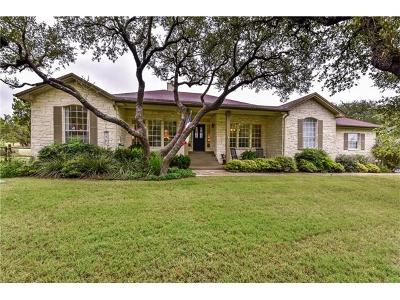 Dripping Springs Single Family Home For Sale: 12221 Triple Creek Cir