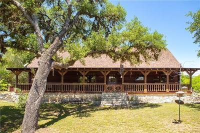 Wimberley Single Family Home Pending - Taking Backups: 810 Spoke Hollow Rd