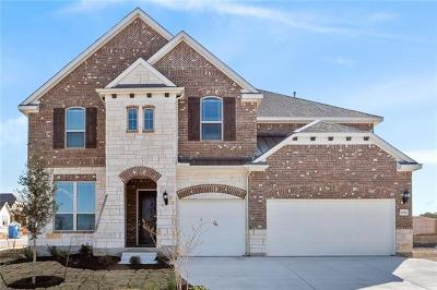 Leander Single Family Home For Sale: 2012 Hawkes Cv