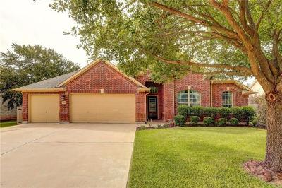 Round Rock Single Family Home Pending - Taking Backups: 5010 Sendero Springs