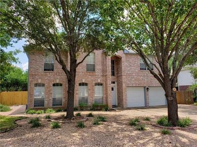 Cedar Park Single Family Home For Sale: 1508 Deer Ledge Trl