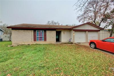 Round Rock TX Single Family Home For Sale: $179,900