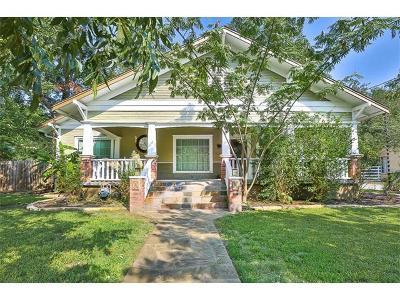 San Marcos Single Family Home For Sale: 1202 W Hopkins St
