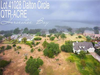 Horseshoe Bay TX Residential Lots & Land For Sale: $12,000