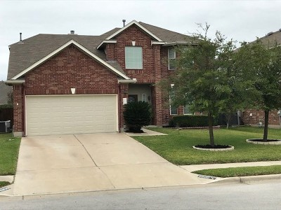 Pflugerville Single Family Home For Sale: 2900 Pedernales Falls Dr