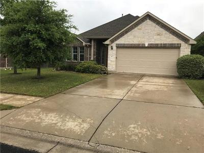 Round Rock Rental For Rent: 116 Snowflake Dr