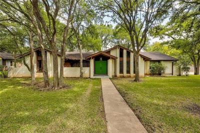 Hays County, Travis County, Williamson County Single Family Home Pending - Taking Backups: 3402 Saddlestring Trl