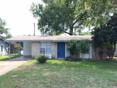 Austin Single Family Home For Sale: 1604 Fair Oaks Dr